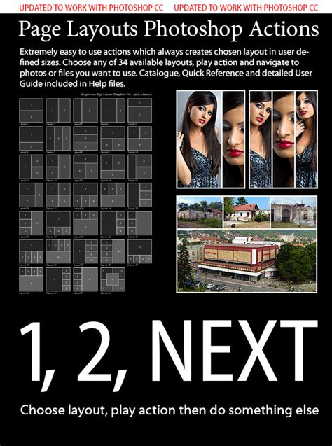 photoshop layout actions page layouts photoshop actions by bojansavke graphicriver