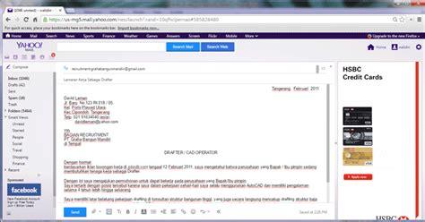 contoh surat lamaran kerja beserta cv nya ndang kerjo