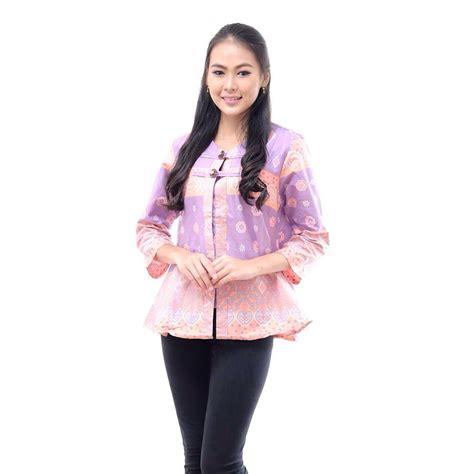 desain batik kerja wanita 13 model baju kerja wanita edisi batik paling modern elegan