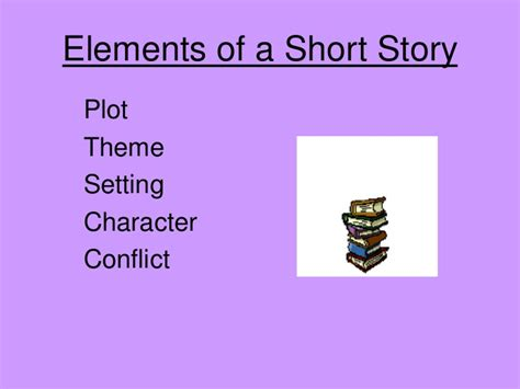 themes of a story powerpoint story elements ppt
