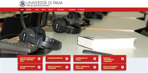 cim pavia corsi il nuovo sito centro linguistico news unipv