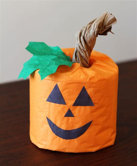 Toilet Paper Pumpkin Craft - pin by erika maughan lewis on craft club ideas