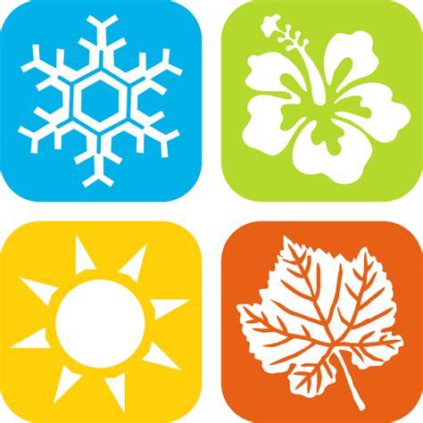 seasons clipart clipart seasons icons