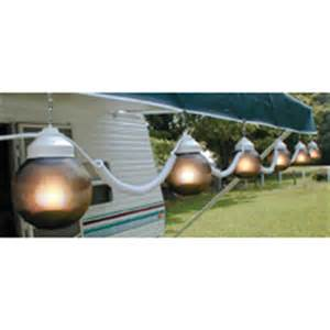 Rv Patio Lights Polymer Products 110v Bronze String Globe Lights 6 Pk 195033 Rv Outdoor Furnishings At