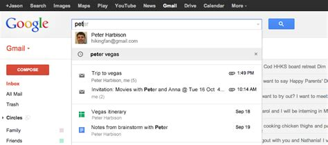 Gmail Search Emails Gmail Search Updated To Scan Drive Calendar And More
