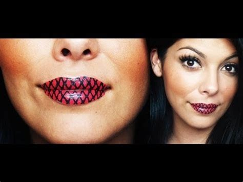 temporary lip tattoos temporary lip tutorial
