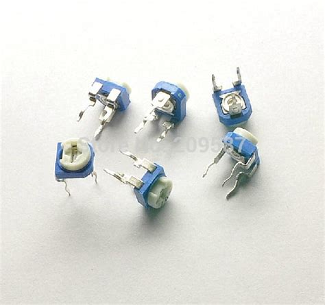 100k feedback resistor aliexpress buy 100pcs trimmer potentiometer 100k ohm 104 100k trimmer resistors variable