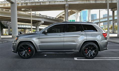 jeep cherokee grey with black rims xo tokyo matte black staggered concave wheels mercedes