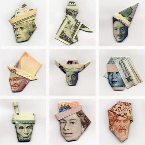 Paper Money Folding - moneygami the of paper money folding jayhan