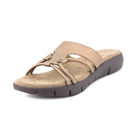 aerosoles shoes aerosoles wip away womens open toe faux leather slides