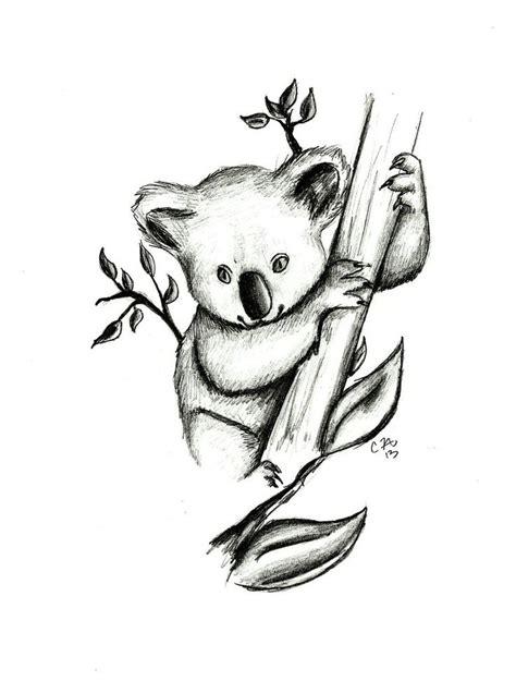 koala pencil drawing www pixshark com images galleries
