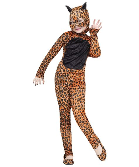 jaguar costume cheetah kids halloween costume girls costumes