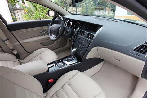 renault sm7 interior renault latitude test drive
