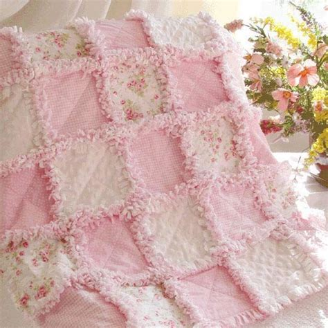 Flannel Rag Baby Quilt by Flannel Rag Quilt Crochet Knit