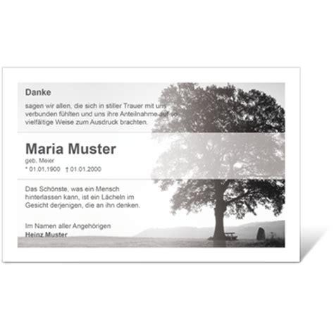 Kostenlose Vorlage Trauerkarte trauerkarten oder danksagungen zur trauer
