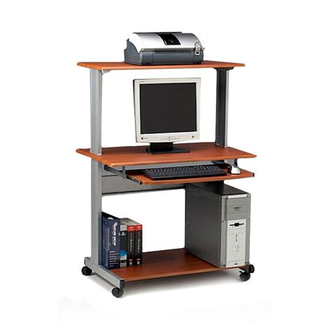 mayline 8350mr mobile multimedia computer desk workstation