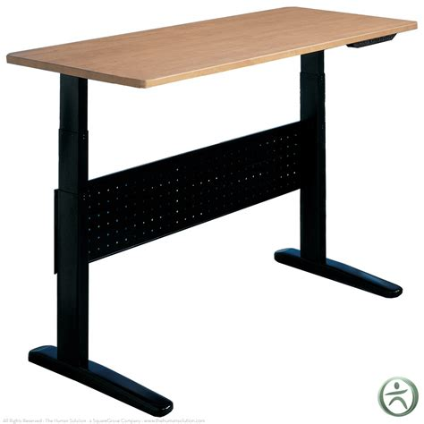 Shop Electric Height Adjustable Desks Mayline Varitask Xr Height Adjust Desk