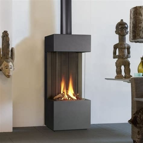 Free Standing Gas Fireplace by 25 Best Ideas About Freestanding Fireplace On