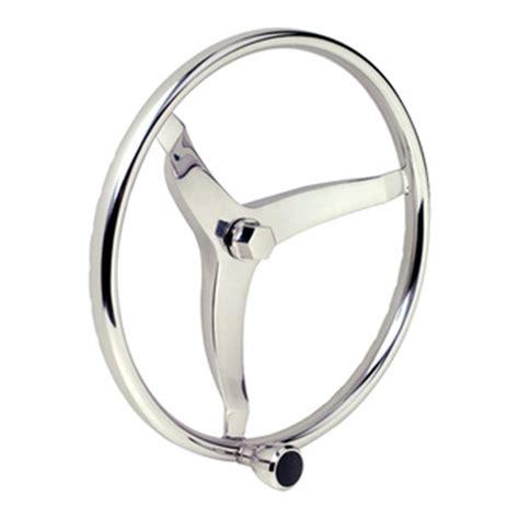 boat steering wheel maintenance seachoice 174 stainless steel sports steering wheel 15 1 2