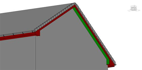 Slope Ceiling dry verge roof modelling query