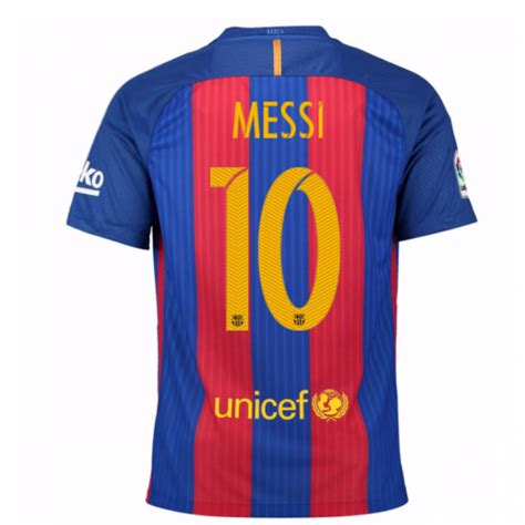 design clothes barcelona 2016 17 barcelona home shirt messi 10 kids 777029 481