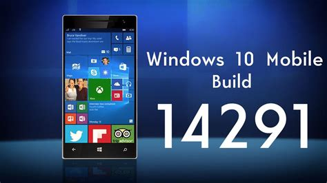 windows 10 mobile build 14291 video review on lumia 640 windows 10 mobile build 14291 preview and tour youtube
