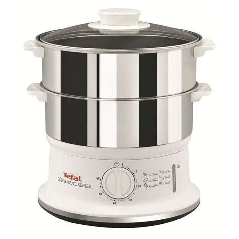 Kitchen Steamer Company by Tefal Convenient Series Home Kitchen Compact Food Steamer