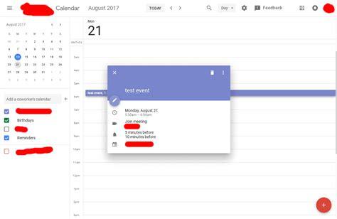 material design calendar html google is now testing material design for calendar on
