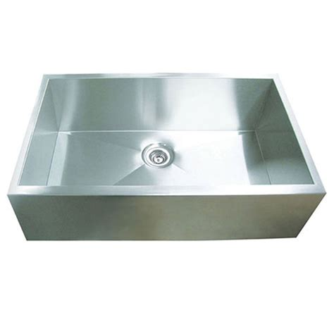 Stainless Steel Sink For Kitchen Shop Yosemite Home Decor 32 In X 20 5 In Satin Stainless Steel Single Basin Stainless Steel