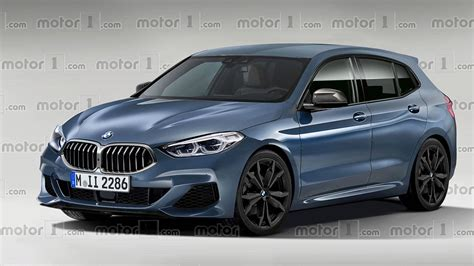 2019 1 Series Bmw by Upcoming Bmw 1 Series Hatchback Gets Rendered