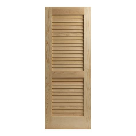 louvers doors interior reliabilt 24 w louvered solid
