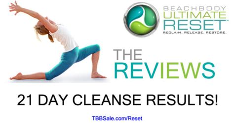 21 Day Detox Challenge Reviews by Beachbody Ultimate Reset Reviews 21 Day Cleanse