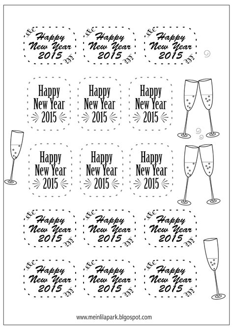 new year 2015 printable images free printable new year s tags silvester 2015