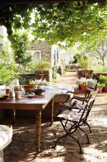 20 Chic French Country Terrace Décor Ideas   Shelterness