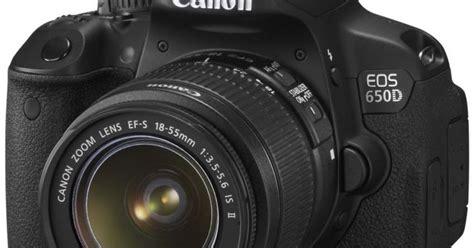 Canon Eos 650d Kit Bekas spesifikasi lengkap dan harga canon eos 650d daftar