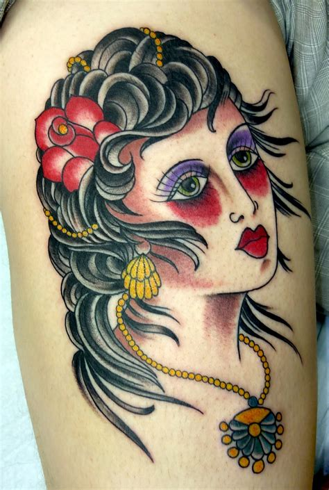 gypsy woman tattoo tattoos designs ideas and meaning tattoos for you