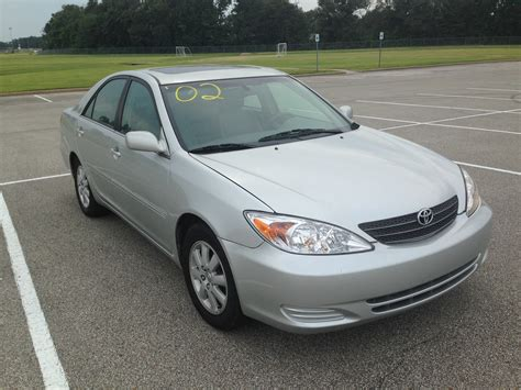 20002 Toyota Camry Silver 2002 Toyota Camry Sold J L Auto Sales