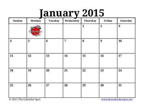 Blank Calendar For 2015 Search Results For January Blank Calendar 2015 For