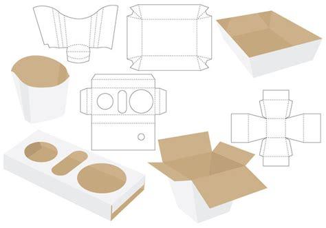 dietary tray card template die cut food packages free vectors ui
