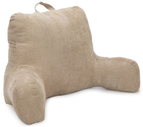 brentwood bed rest pillow brentwood 557 corduroy bedrest tan new ebay