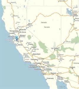 san jose map and san jose satellite image