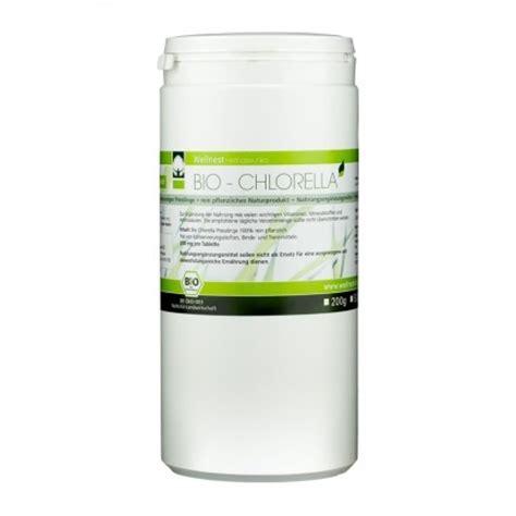 Algae Tablets Detox by Wellnest Organic Chlorella Tablets 100 Algae
