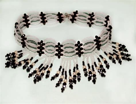 Free Pattern For Beaded Choker Magic