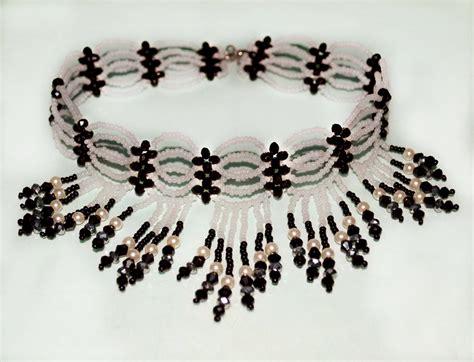 seed bead choker patterns free pattern for beaded choker magic