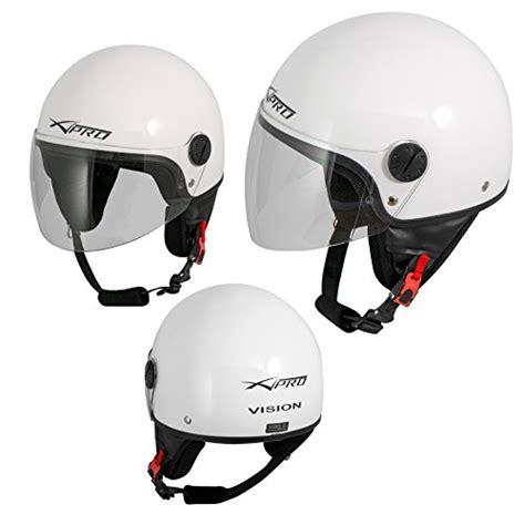 Bmw Motorrad Helm Ersatzteile by Motorradhelm Motorrad Roller Jet Helm Demi Mit Viser Wei 223