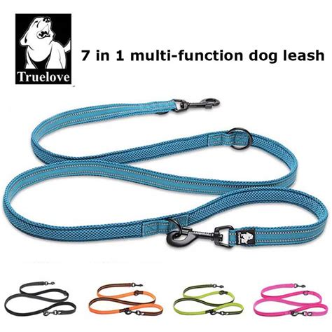 7 in 1 for dogs truelove 7 in 1 multi function adjustable lead free pet leash