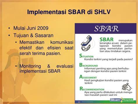 format implementasi dan evaluasi askep ppt meningkatkan keselamatan pasien melalui komunikasi