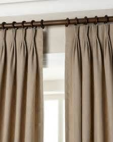 pleat drapery eastern accents pinch pleat linen curtains