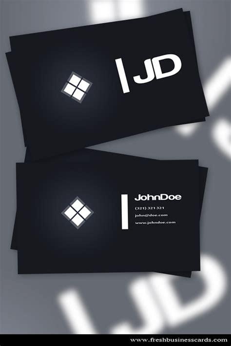card template darkroom 25 fascinating psd business card templates