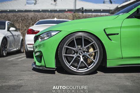 bmw bbs wheels signal green bmw m4 with bbs wheels